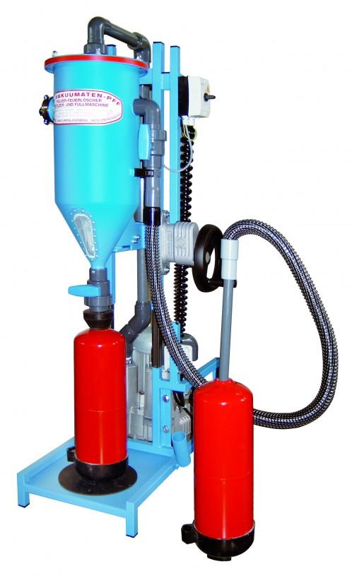 machine à poudre pour extincteurs