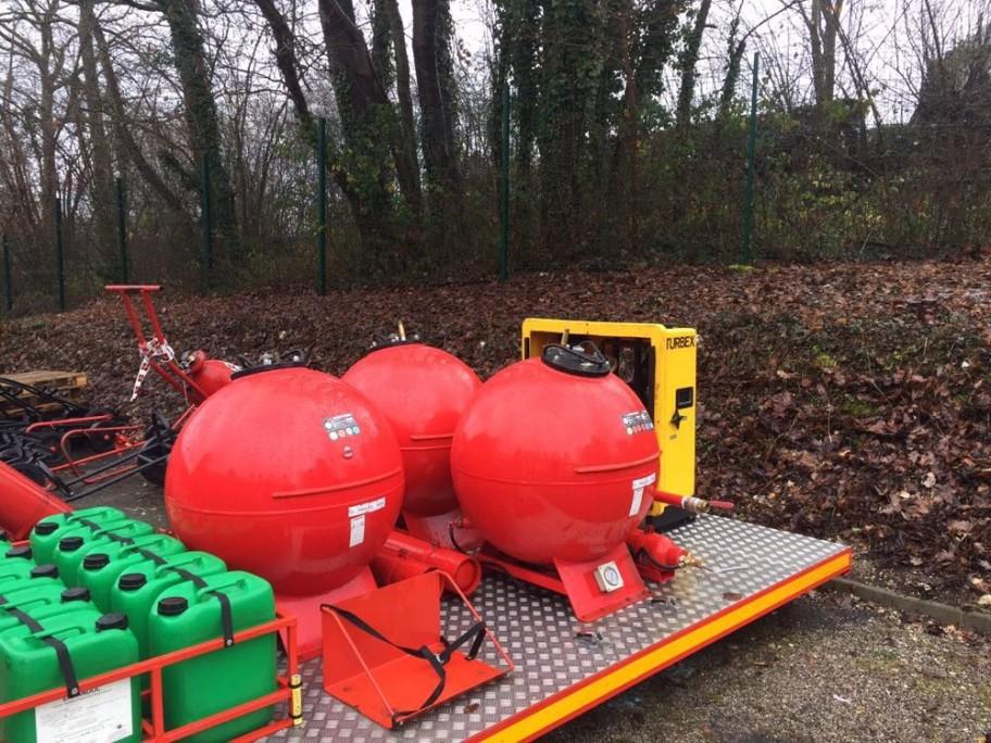 requalification des réservoirs sur véhicules incendie