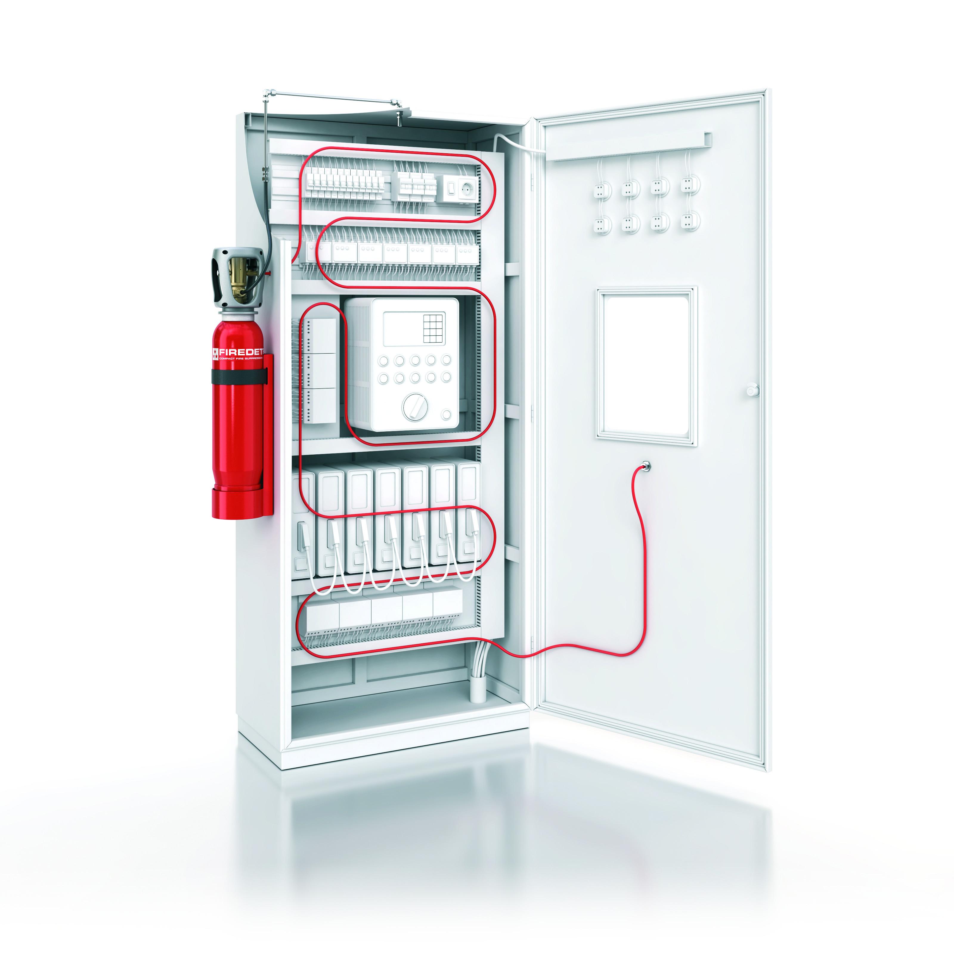 syst me de protection incendie pour armoire lectrique la s curit incendie. Black Bedroom Furniture Sets. Home Design Ideas
